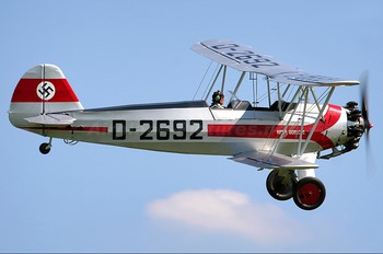 G-STIG - Private Focke-Wulf Fw.44J Stieglitz