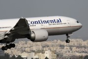 N77019 - Continental Airlines Boeing 777-200ER aircraft