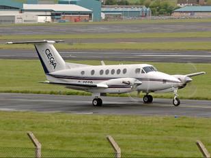 G-CEGP - Cega Air Ambulance UK Beechcraft 200 King Air