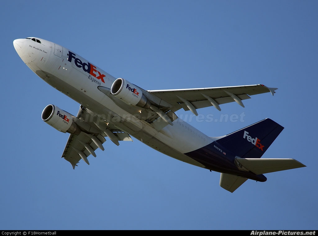 FedEx Federal Express N801FD aircraft at Munich