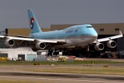 HL7489 - Korean Air Boeing 747-400 aircraft