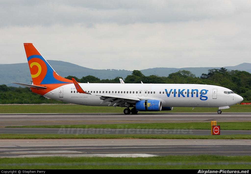 Viking Airlines C-FYLC aircraft at Manchester