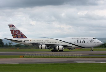 AP-BFU - PIA - Pakistan International Airlines Boeing 747-300
