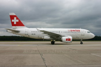 HB-IPR - Swiss Airbus A319