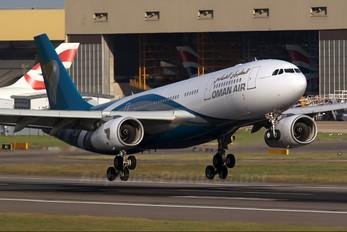 VT-JWD - Oman Air Airbus A330-200
