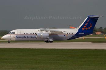 OO-DWB - Brussels Airlines British Aerospace BAe 146-300/Avro RJ100