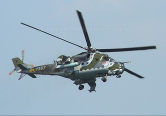 7357 - Czech - Air Force Mil Mi-24V