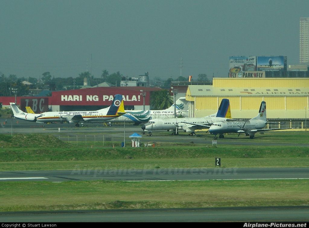 Aboitiz Air  RP-C2677 aircraft at Manila Ninoy Aquino Intl