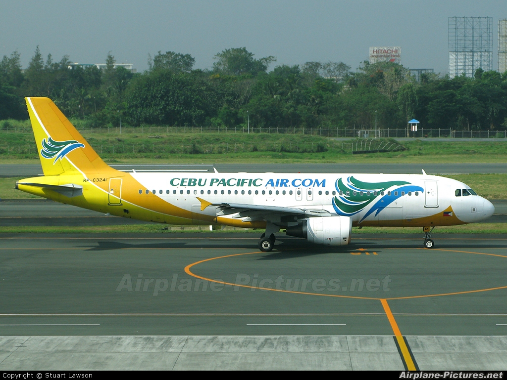 Cebu Pacific Air RP-C3241 aircraft at Manila Ninoy Aquino Int