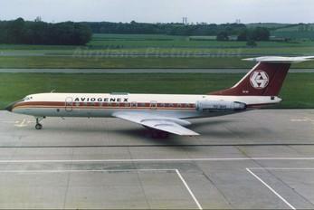 YU-AHY - Aviogenex Tupolev Tu-134A