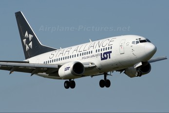 SP-LKE - LOT - Polish Airlines Boeing 737-500