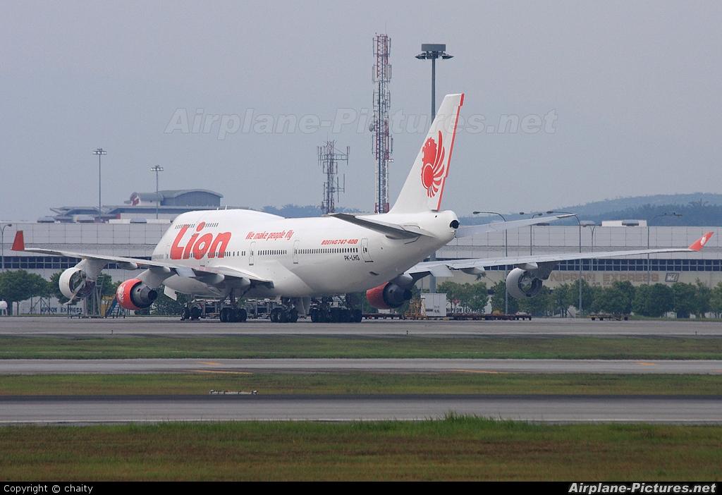 Lion Airlines PK-LHG aircraft at Kuala Lumpur Intl