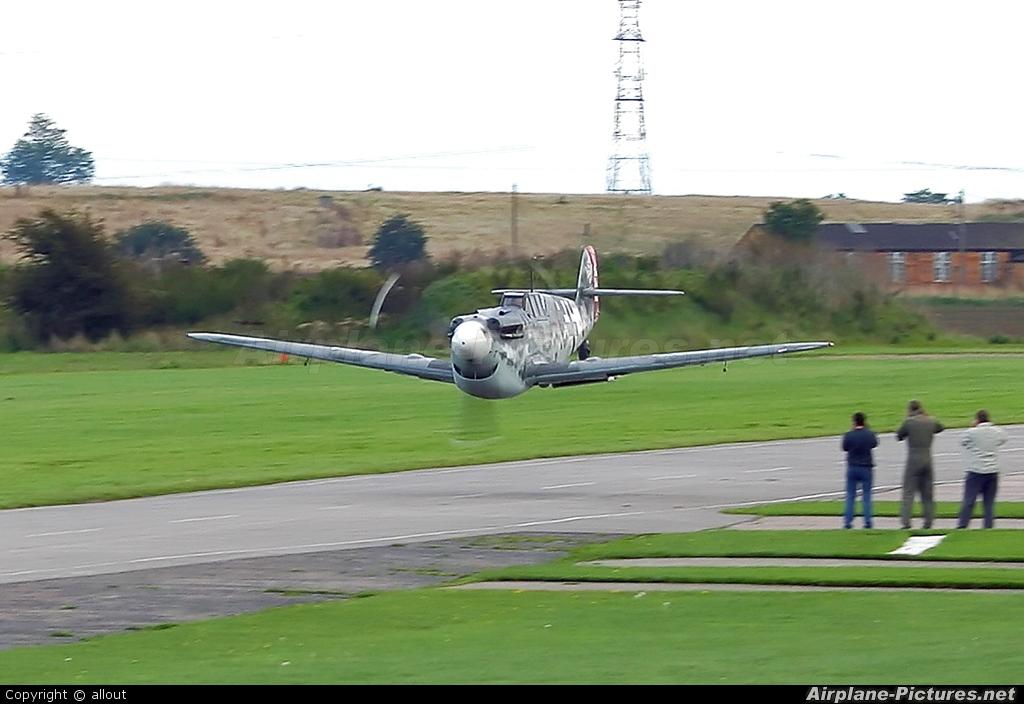 G Bwue Historic Flying Hispano Aviaci 243 N Ha 1112 Buchon