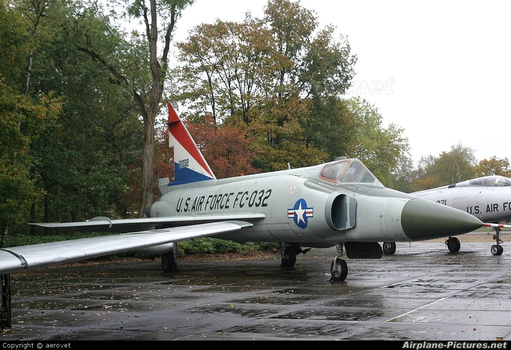 USA - Air Force 61032 aircraft at Soesterberg - Militaire Luchtvaart Museum
