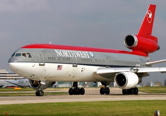 N234NW - Northwest Airlines McDonnell Douglas DC-10
