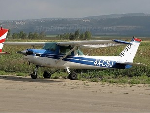 4X-CSJ - Private Cessna 152
