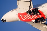 - - Emirates Airlines Airbus A380 aircraft