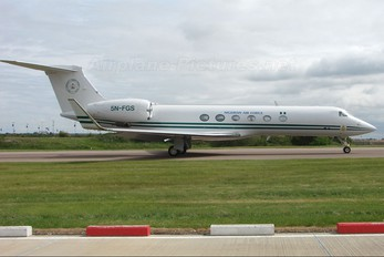 5N-FGS - Nigeria - Air Force Gulfstream Aerospace G-V, G-V-SP, G500, G550