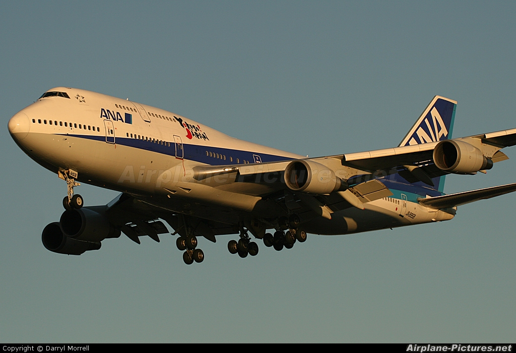 ANA - All Nippon Airways JA8958 aircraft at London - Heathrow