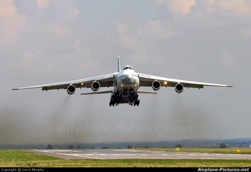 Polet Flight RA-82014 aircraft at East Midlands