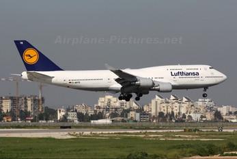 D-ABTE - Lufthansa Boeing 747-400