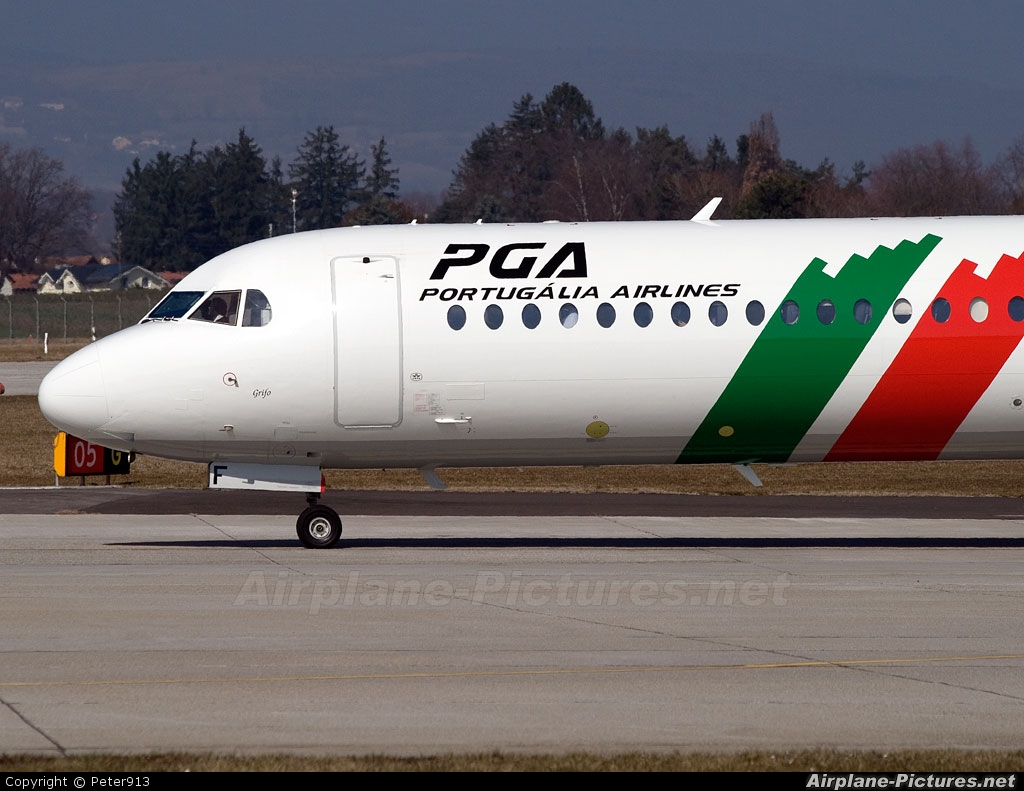 PGA Portugalia CS-TPF aircraft at Geneva Intl