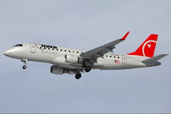 N624CZ - Northwest Airlink Embraer ERJ-170 (170-100)