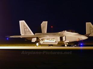 04-4073 - USA - Air Force Lockheed Martin F-22A Raptor