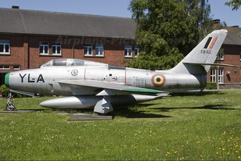 FU-66 - Belgium - Air Force Republic F-84F Thunderstreak