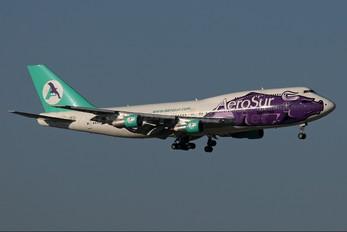CP-2525 - Aerosur Boeing 747-300