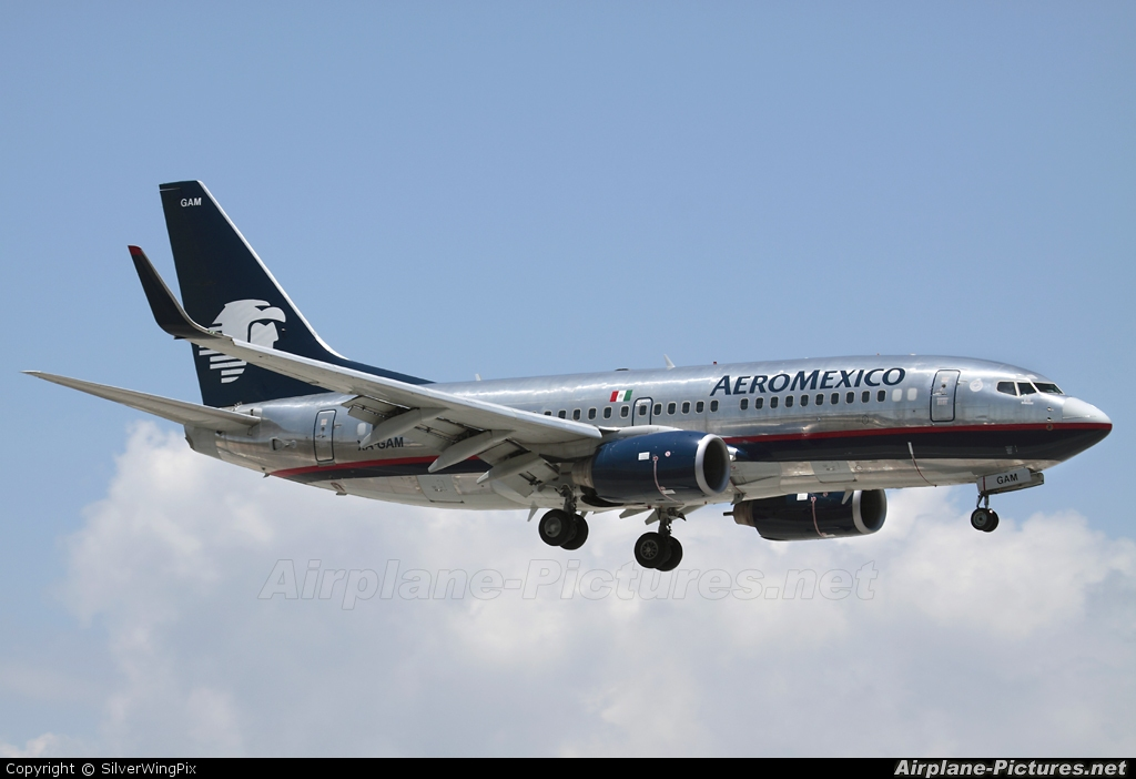 Aeromexico XA-GAM aircraft at Miami Intl
