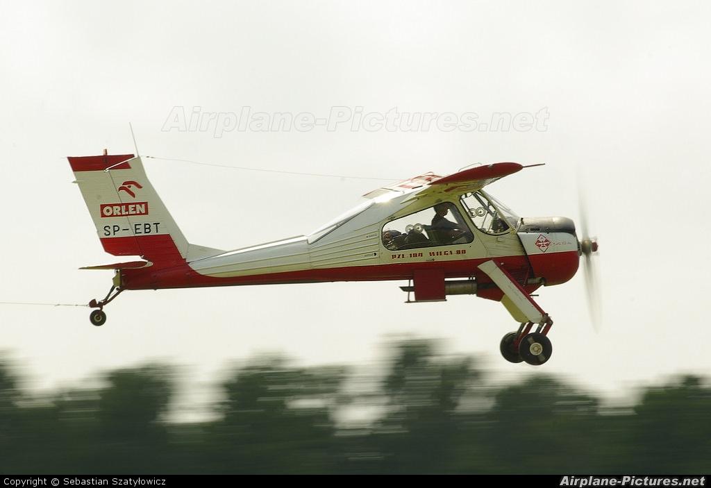 Aeroklub Ziemi Mazowieckiej SP-EBT aircraft at Góraszka