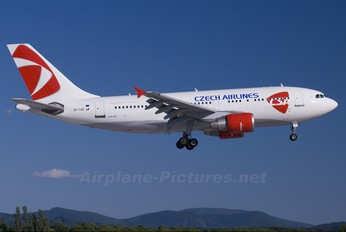OK-YAD - CSA - Czech Airlines Airbus A310
