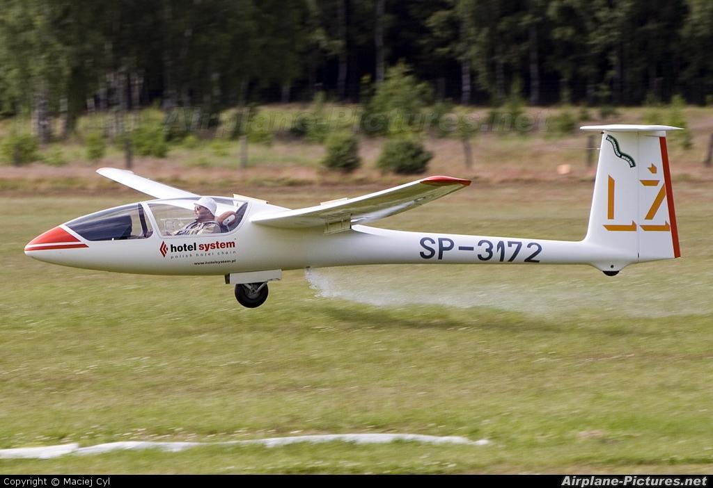Private SP-3172 aircraft at Zielona Góra - Przylep
