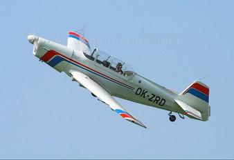 OK-ZRD - Aeroklub Czech Republic Zlín Aircraft Z-526F