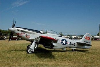 N10607 - Private North American P-51D Mustang