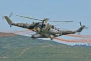 0835 - Czech - Air Force Mil Mi-35 aircraft