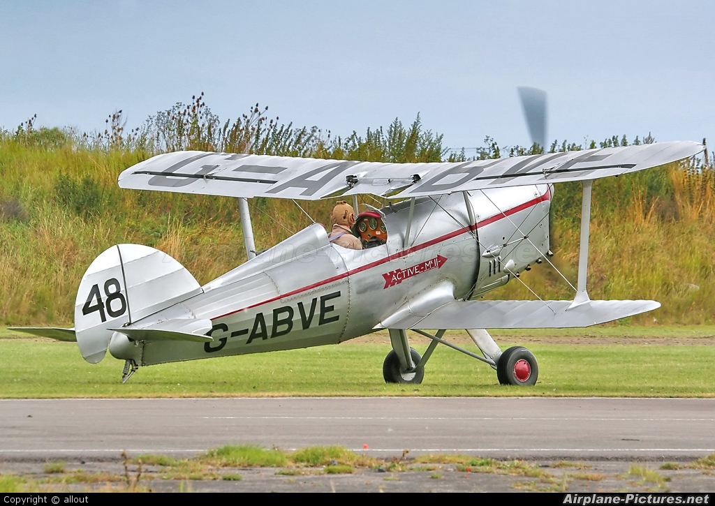 Private G-ABVE aircraft at Breighton