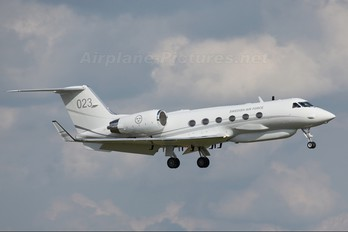 102003 - Sweden - Air Force Gulfstream Aerospace S102B Korpen