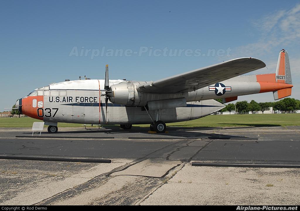 51-8037 - USA - Air Force Fairchild C-119 Flying Boxcar at ...