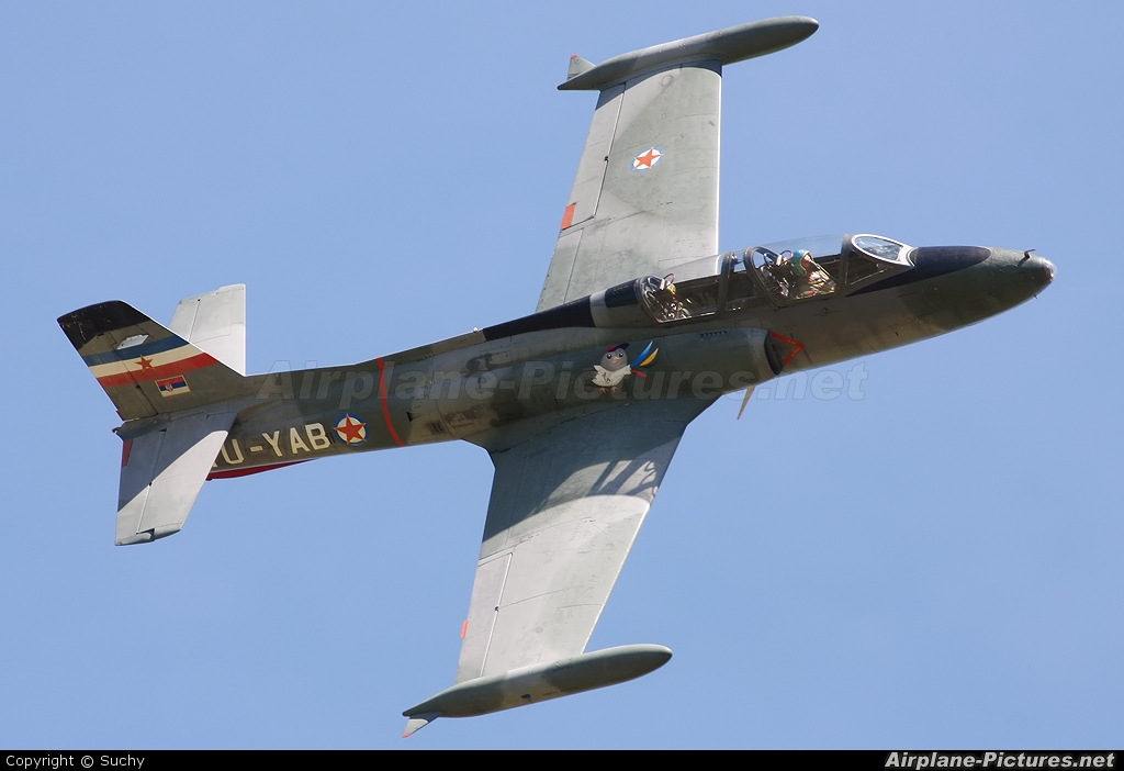 Aeroklub Galeb YU-YAB aircraft at Piestany