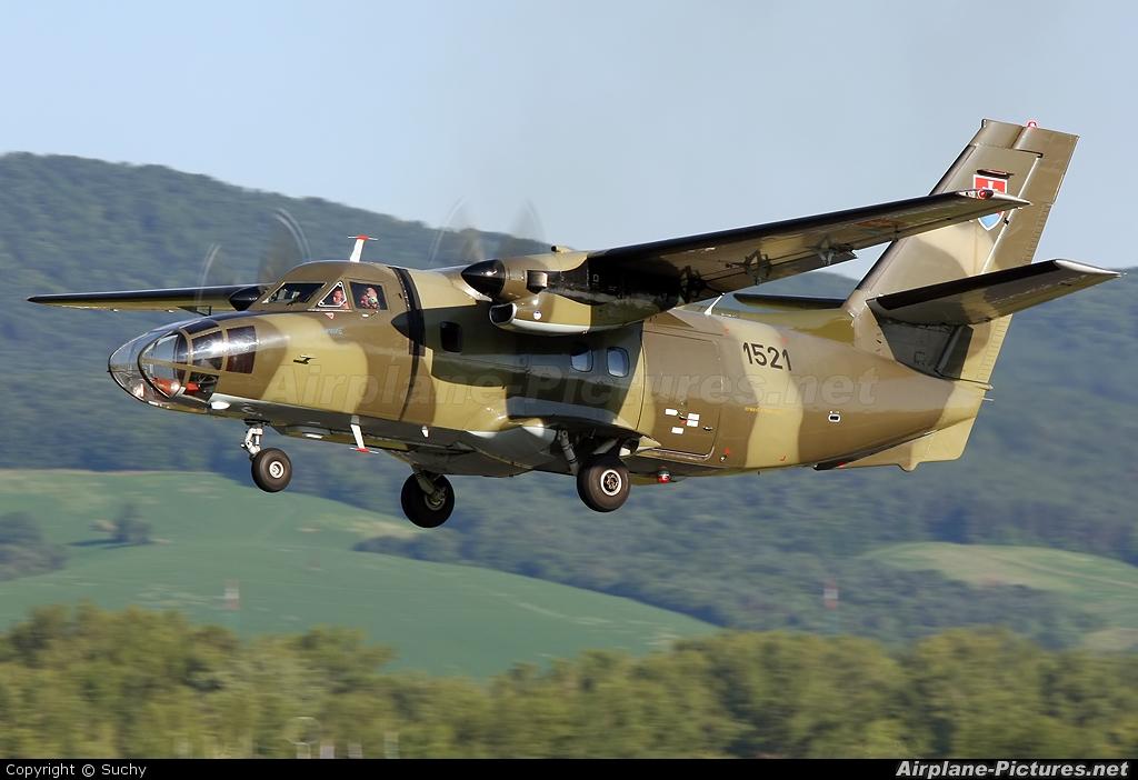 Slovakia -  Air Force 1521 aircraft at Piestany