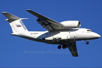 RA-74048 - Sverdlovsk 2nd Air Enterprise Antonov An-74