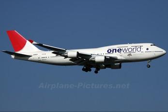 JA8913 - JAL - Japan Airlines Boeing 747-400