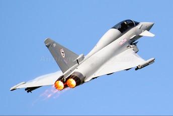 ZJ809 - Royal Air Force Eurofighter Typhoon T.1