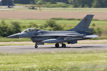 FA-81 - Belgium - Air Force General Dynamics F-16A Fighting Falcon