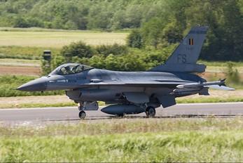 FA-117 - Belgium - Air Force General Dynamics F-16A Fighting Falcon