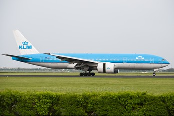 PH-BQM - KLM Boeing 777-200ER