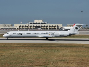 EC-JUG - United Nations McDonnell Douglas MD-83