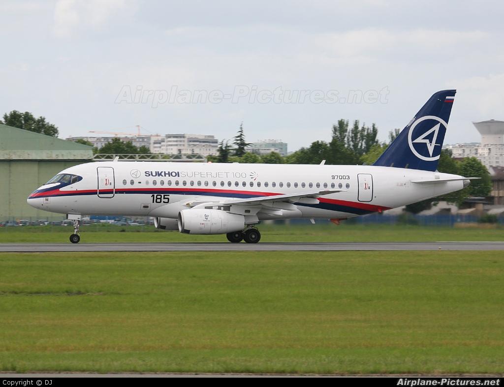 Sukhoi Design Bureau RA-97003 aircraft at Paris - Le Bourget